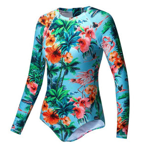 AXESEA Brand - New Rash Guard Swimsuit for Women