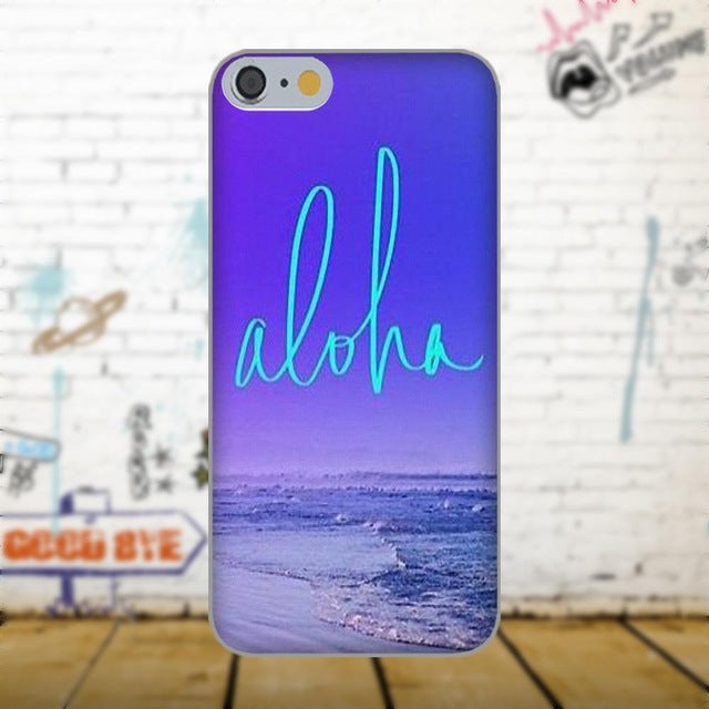 Aloha Phone Case - Wood Tone