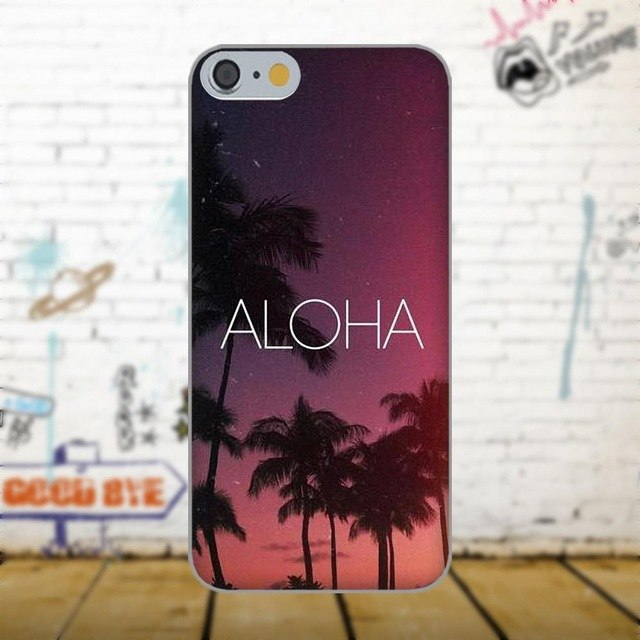 Aloha Phone Case - Palm Trees
