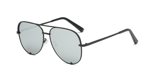 Pilot Mirror Metal Sun Glasses
