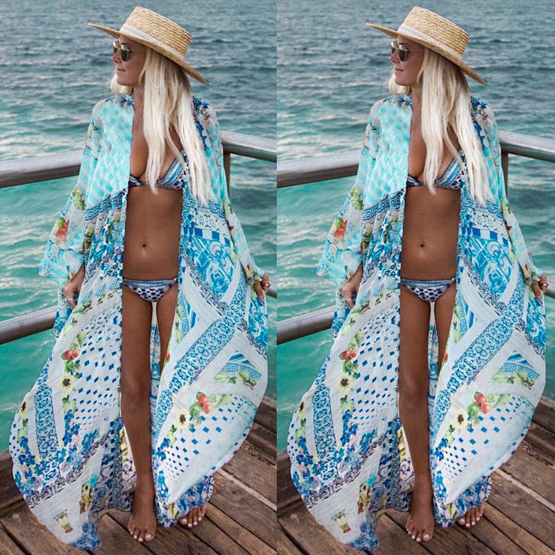 Beach Long Dress Bikini Cover Up