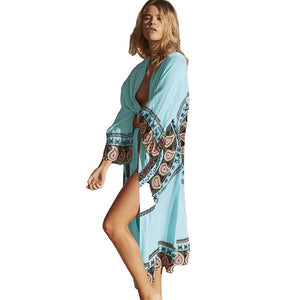 Chiffon Beach Cover Up /  Summer Vibe