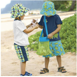 1 Pc Portable Mesh Beach Bag
