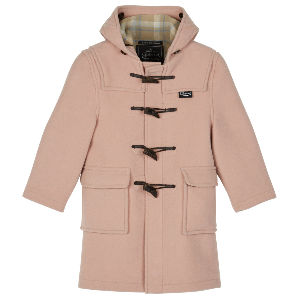 Children's Duffle Coat in Rose