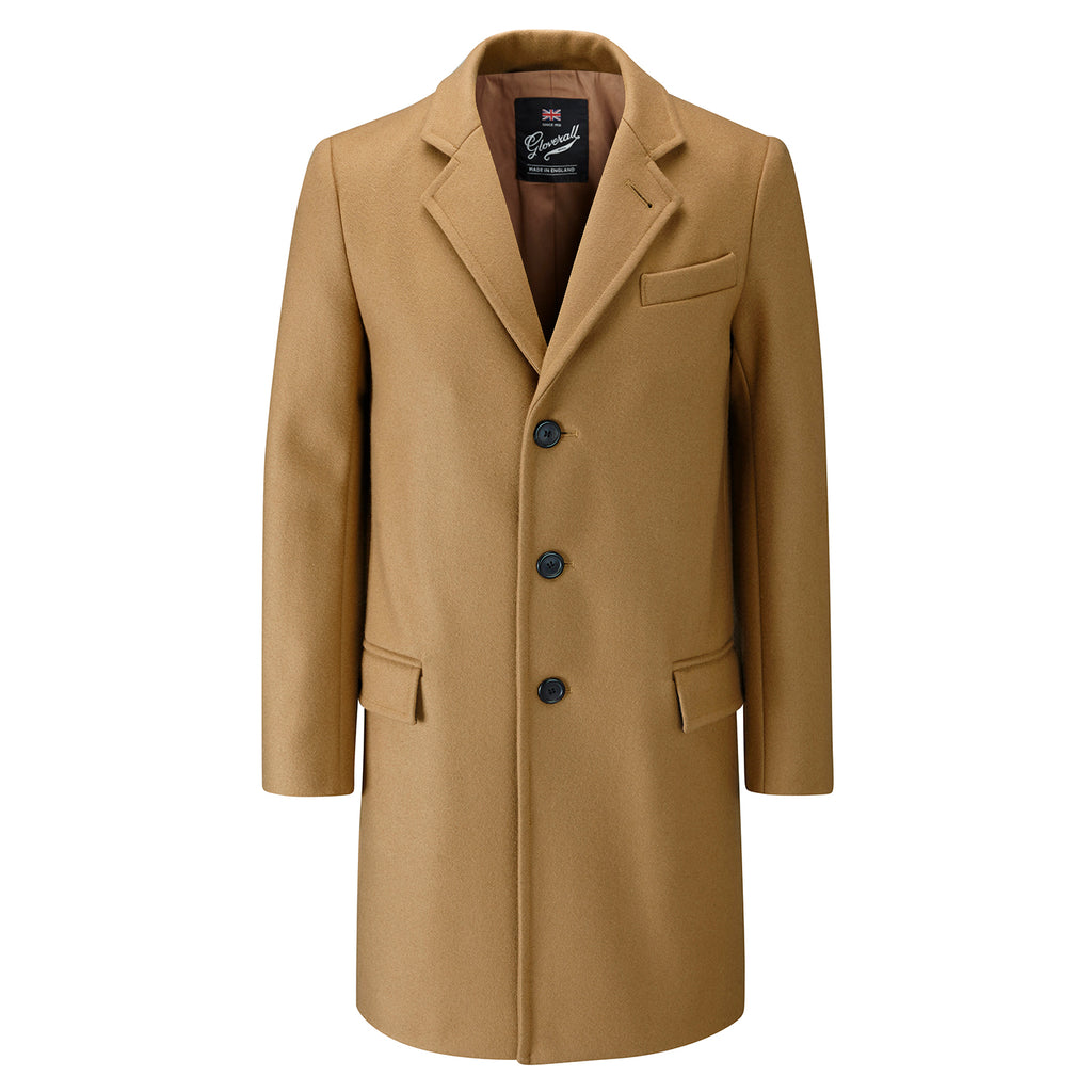Chesterfield Overcoat in Camel