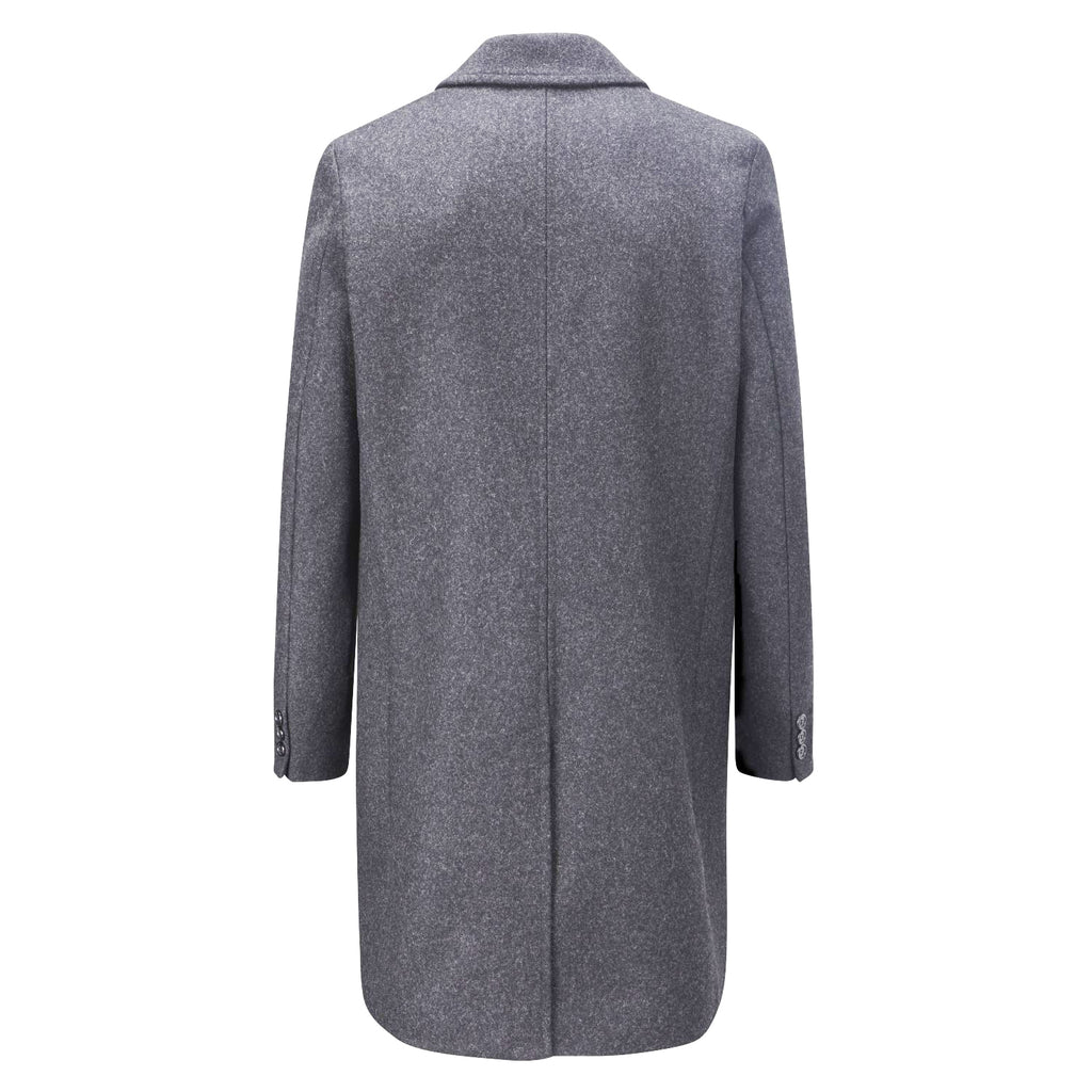 Chesterfield Overcoat in Grey