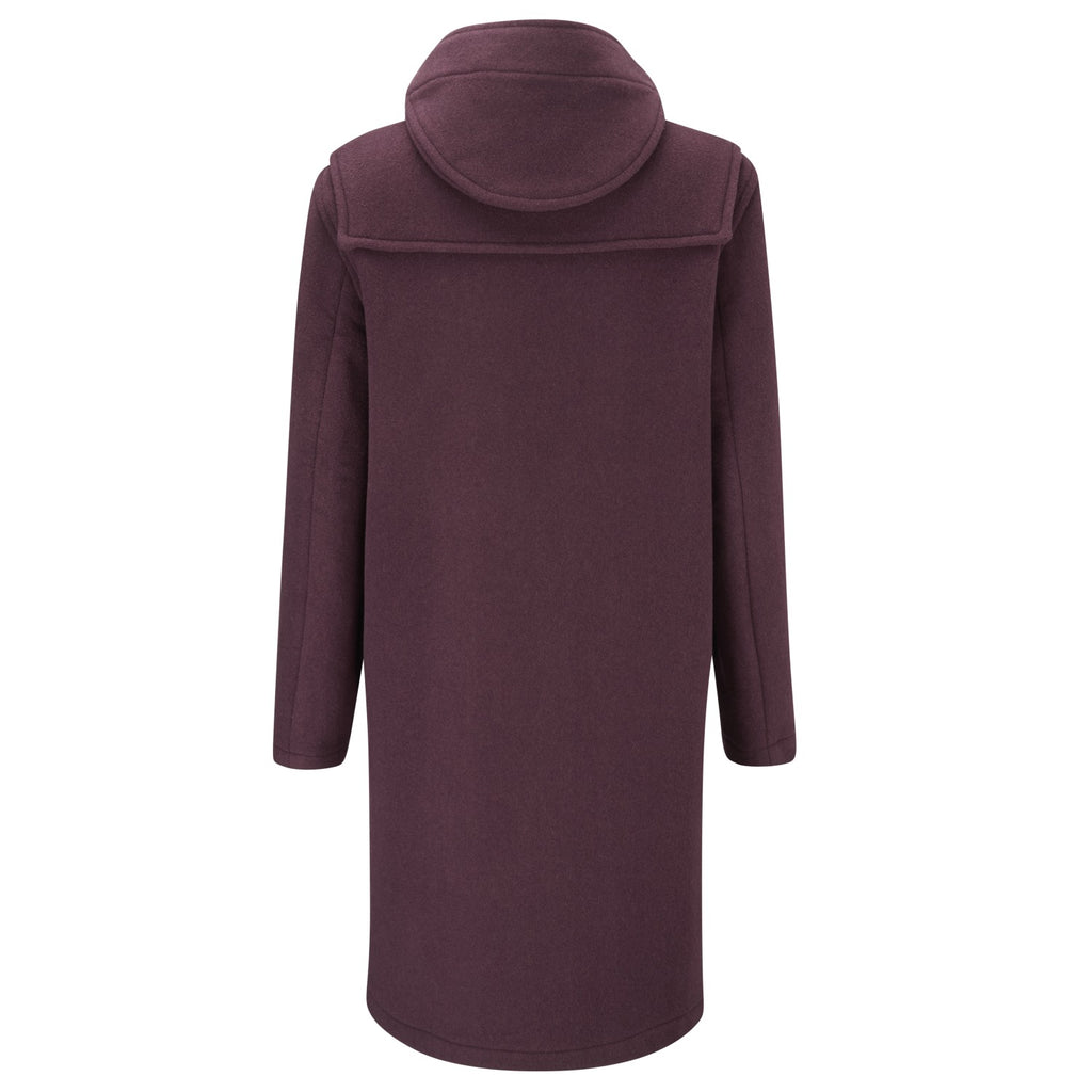 Women's Original Duffle Coat in Burgundy