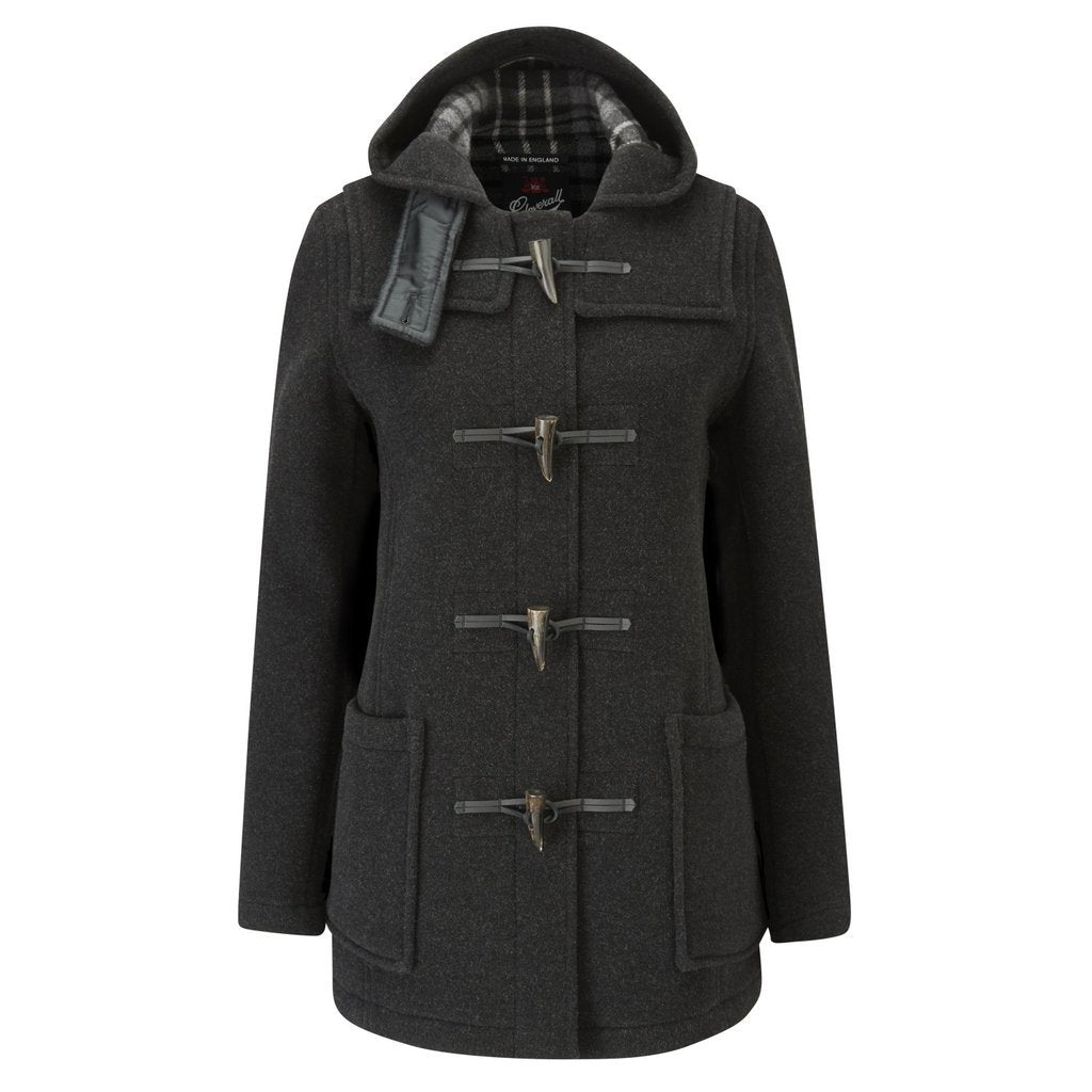 Charcoal Duffle Coat