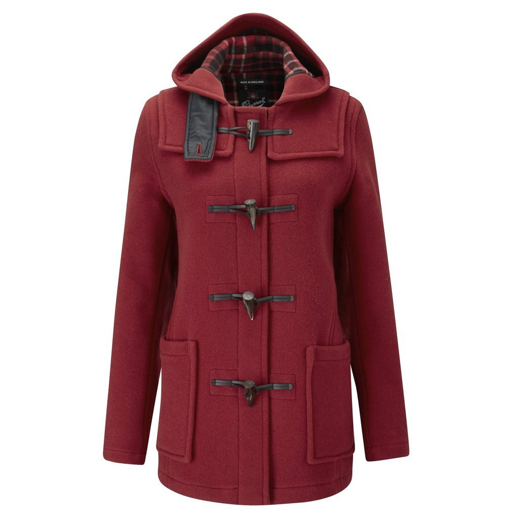 Cranberry Duffle Coat
