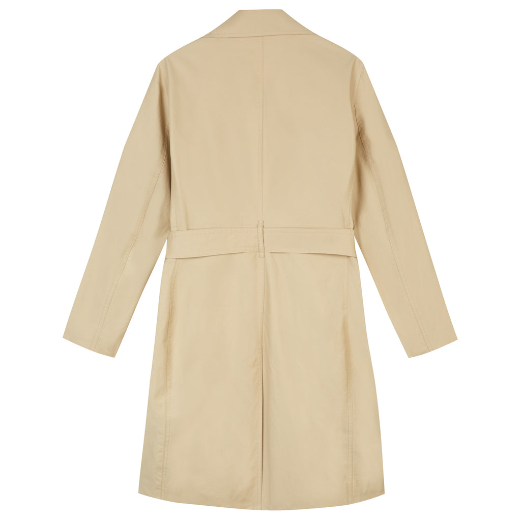 Amelia Trench Coat in Stone