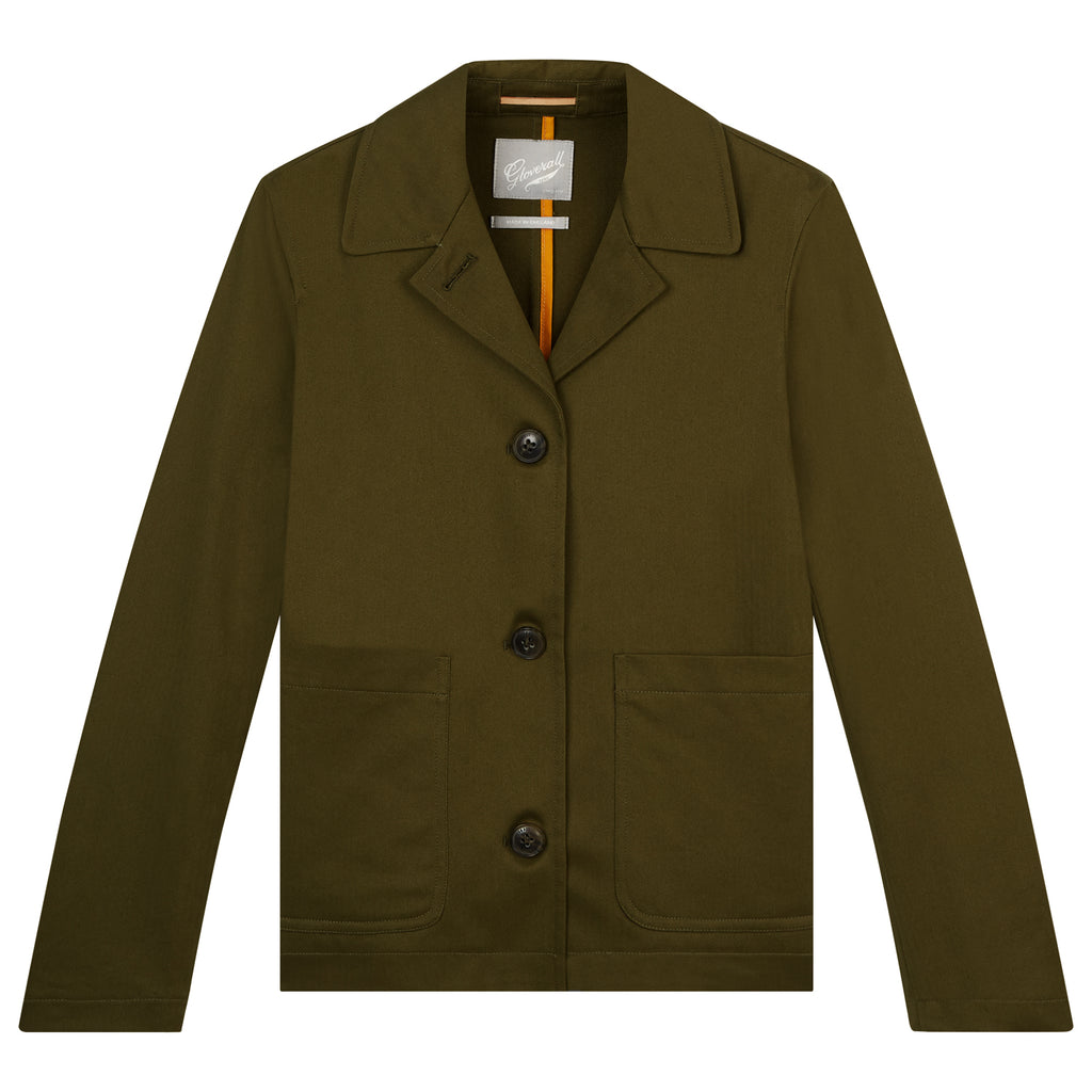 Charlotte Work Jacket in Khaki