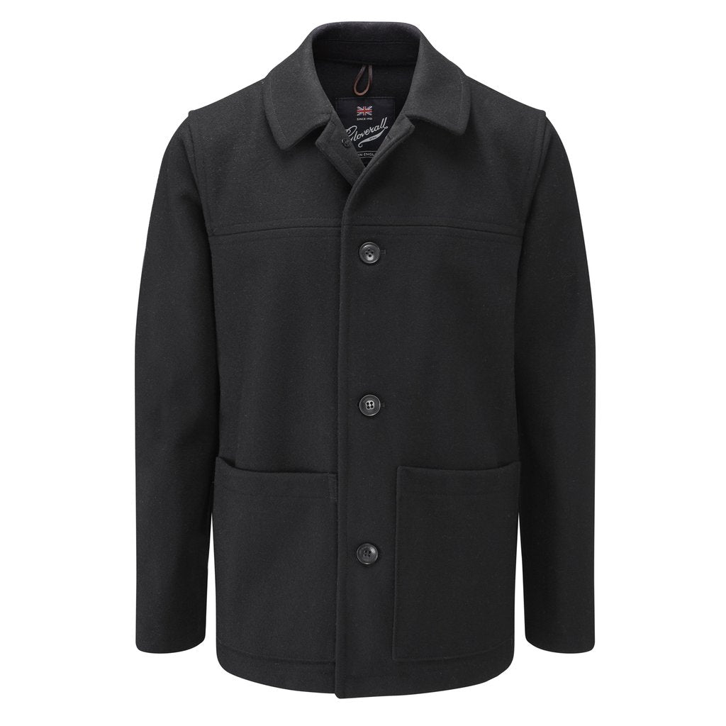 Mens Donkey Jacket in Black