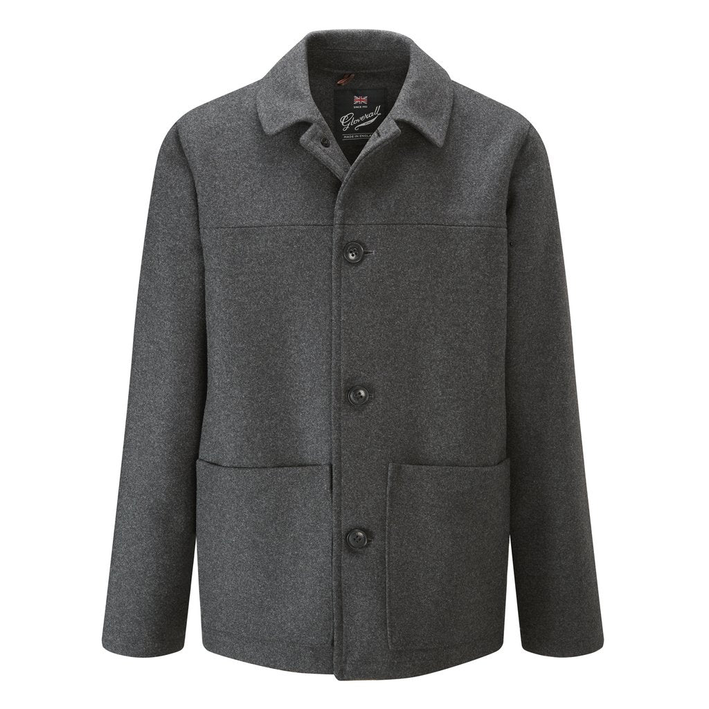 Mens Donkey Jacket in Charcoal