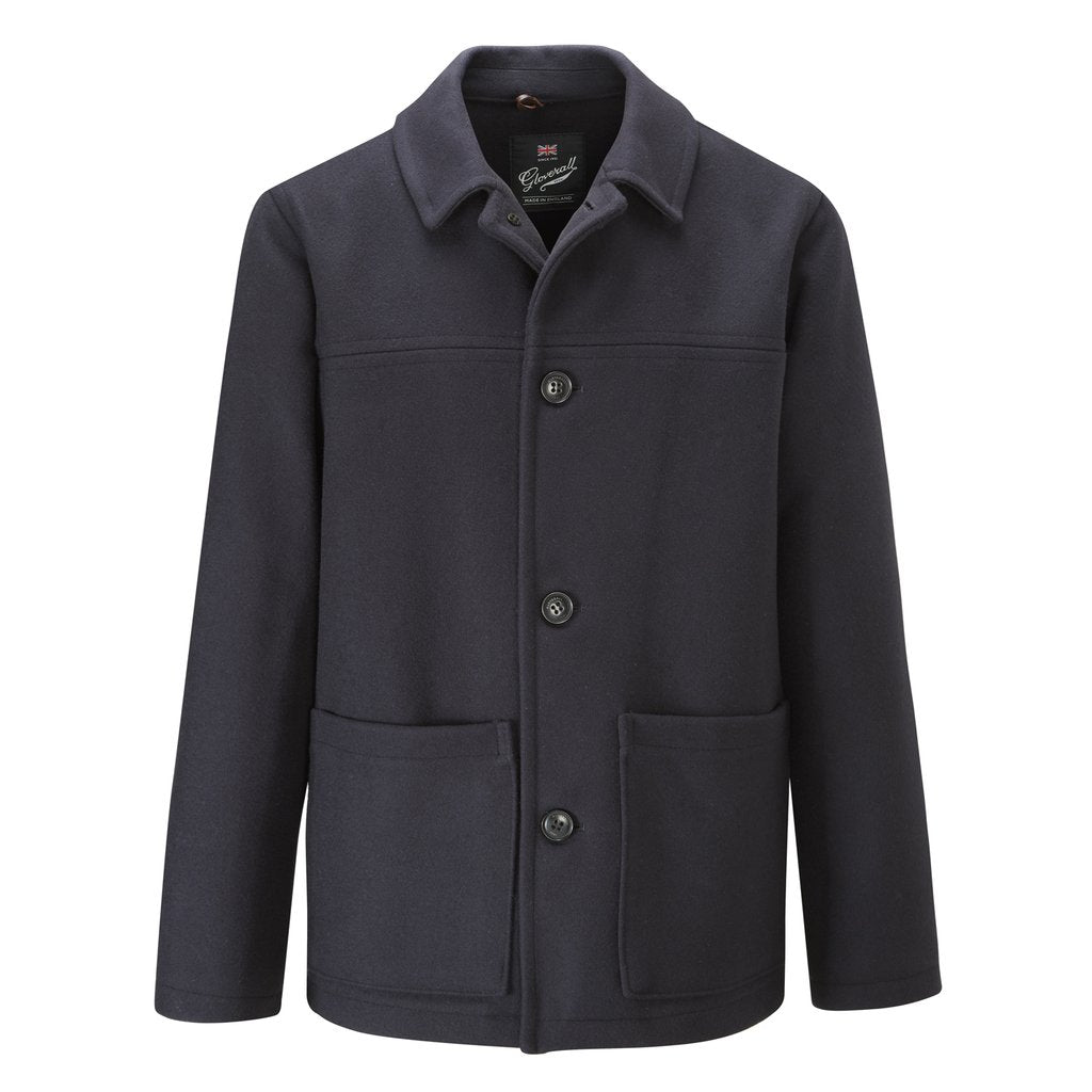 Mens Donkey Jacket in Navy