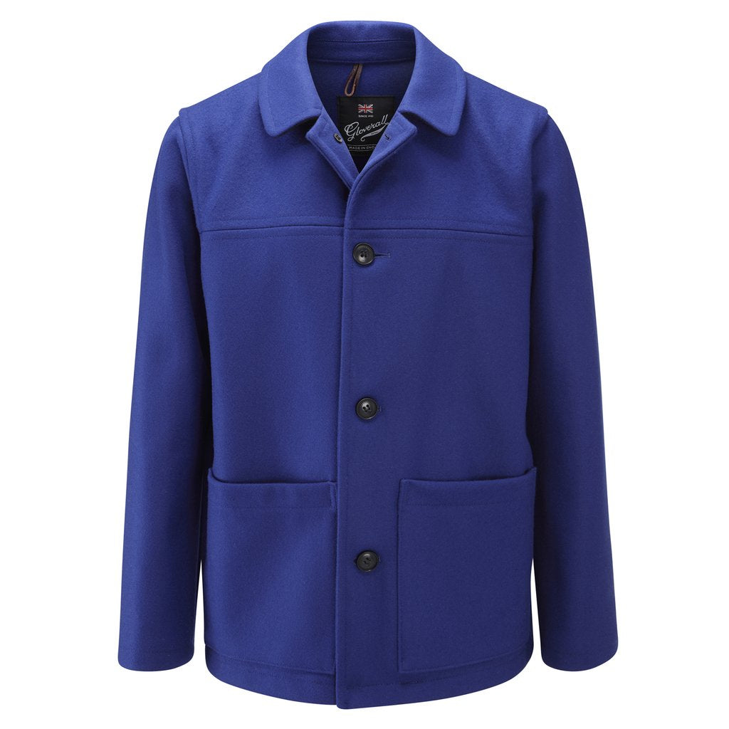 Mens Donkey Jacket in Royal
