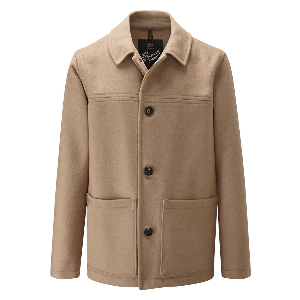 Mens Donkey Jacket in Camel