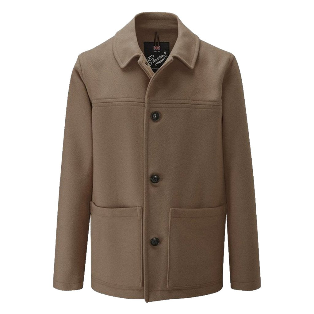 Mens Donkey Jacket in Khaki