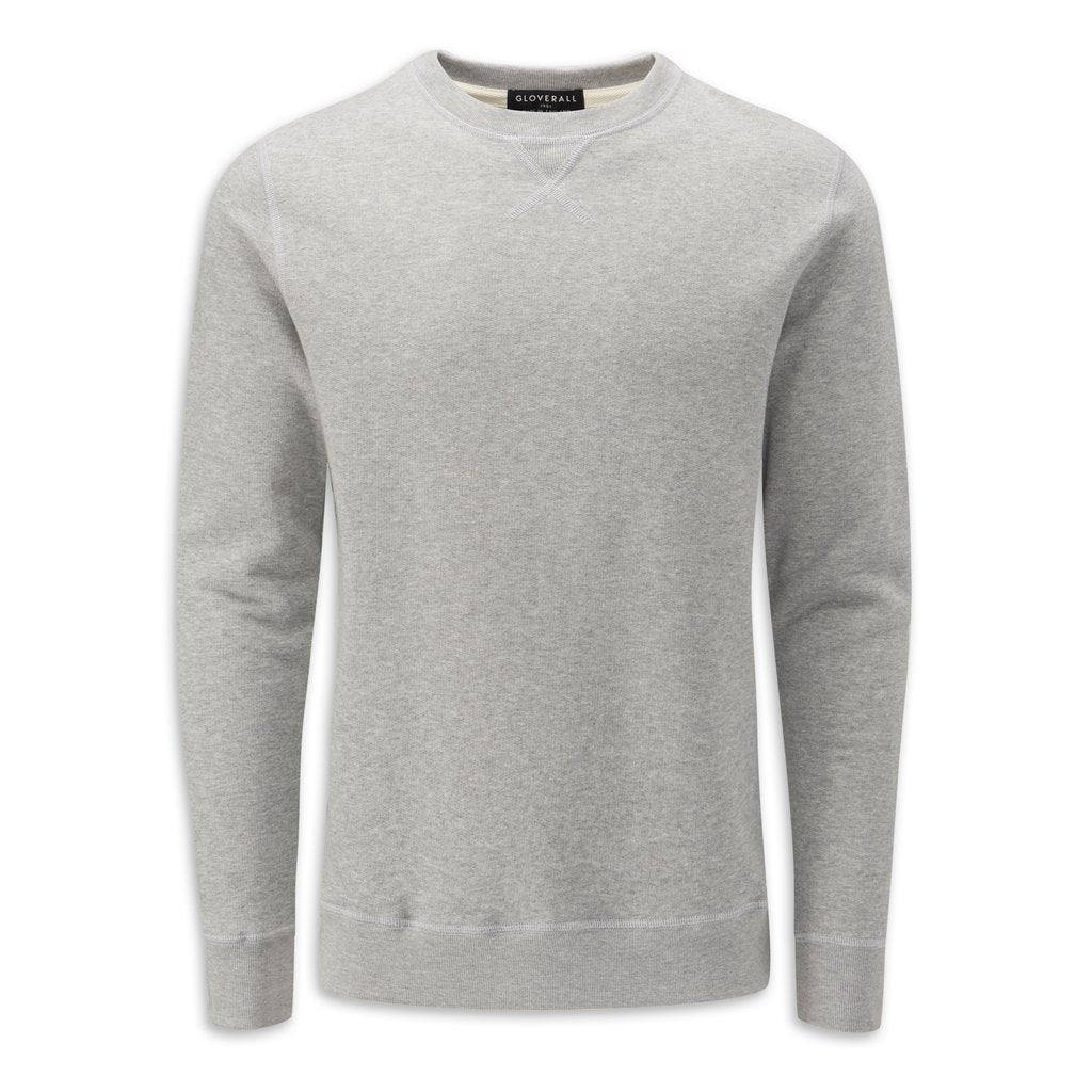 Jersey Sweatshirt in Grey