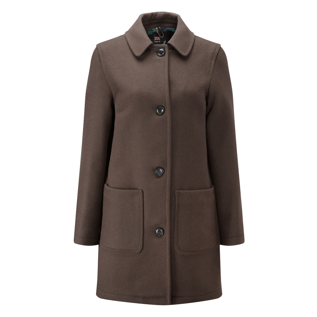 Khaki Casual Overcoat