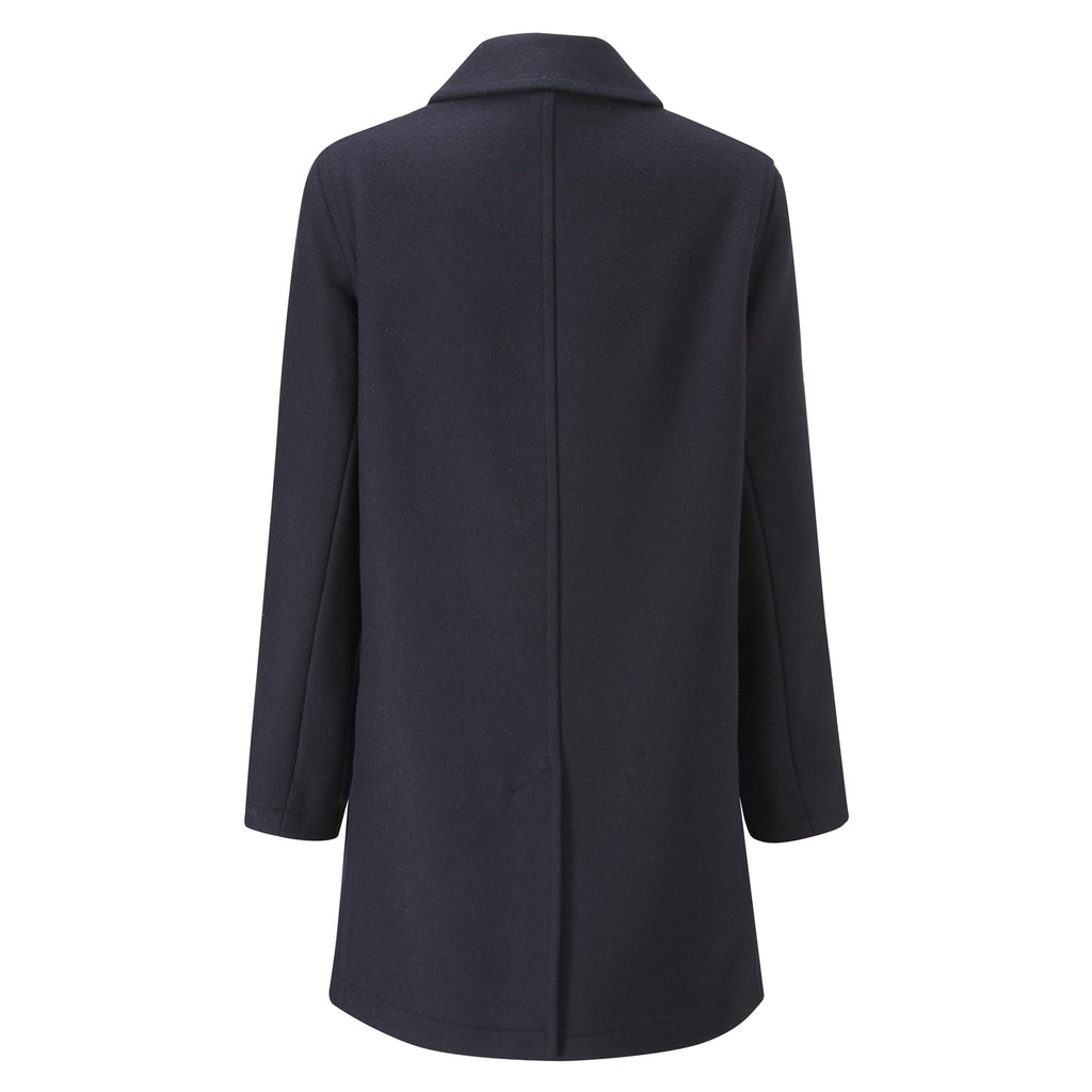 Navy Casual Overcoat