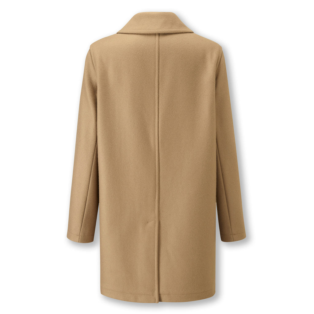Camel Casual Overcoat
