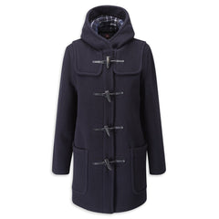 Womens Navy Duffle Coat