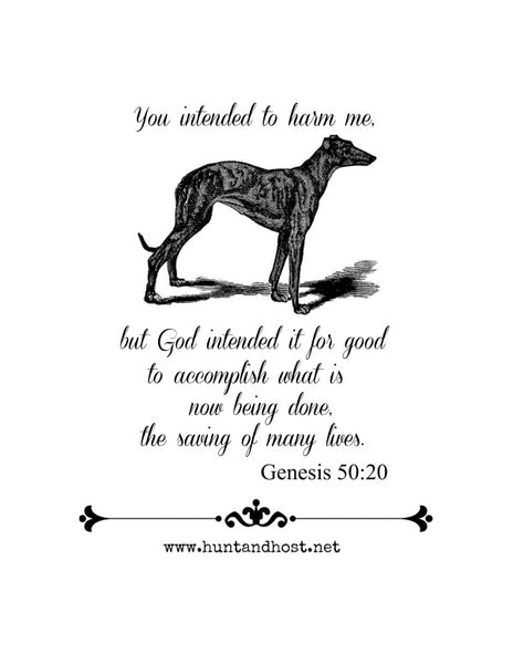 Genesis 50:20 Digital Download for Print
