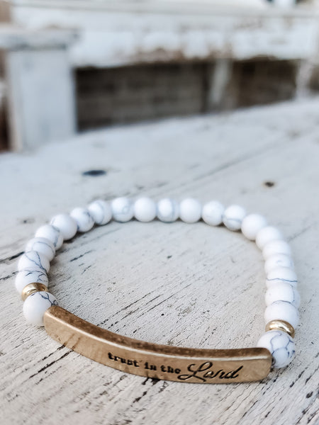 Trust in the Lord Bracelet