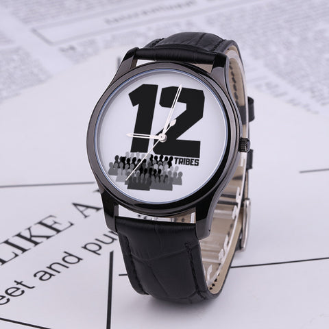 JF Waterproof Quartz Fashion Watch