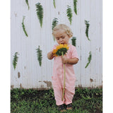 Girls Pink Romper for Babies and Toddlers