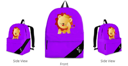 JF Kids Signature BackPack (Purple)