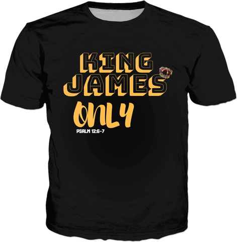 JF King James Tshirt 1611