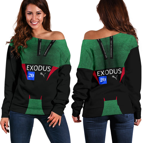JF Exodus20 Off Shoulder Sweater