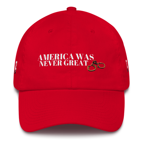 America Was Never Great JF-Signature Cotton Cap