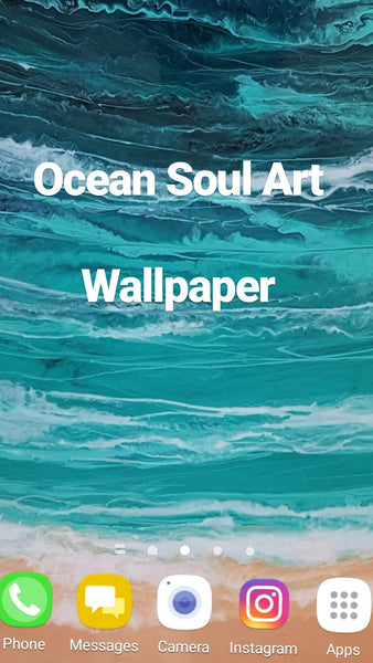 Ocean Soul Art Wallpaper