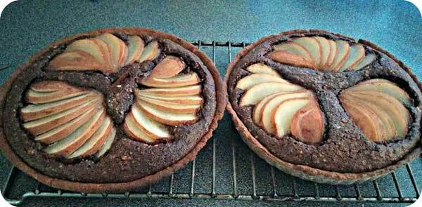 Pear and Chocolate Tart Recipe