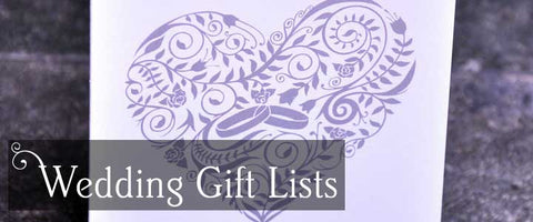 Wedding Gift List