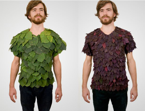 leaf shirts designed by new york artist dave rittinger
