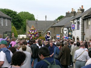 Oak Apple Day in Castleton