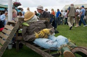 Scarecrow at RHS Tatton Park