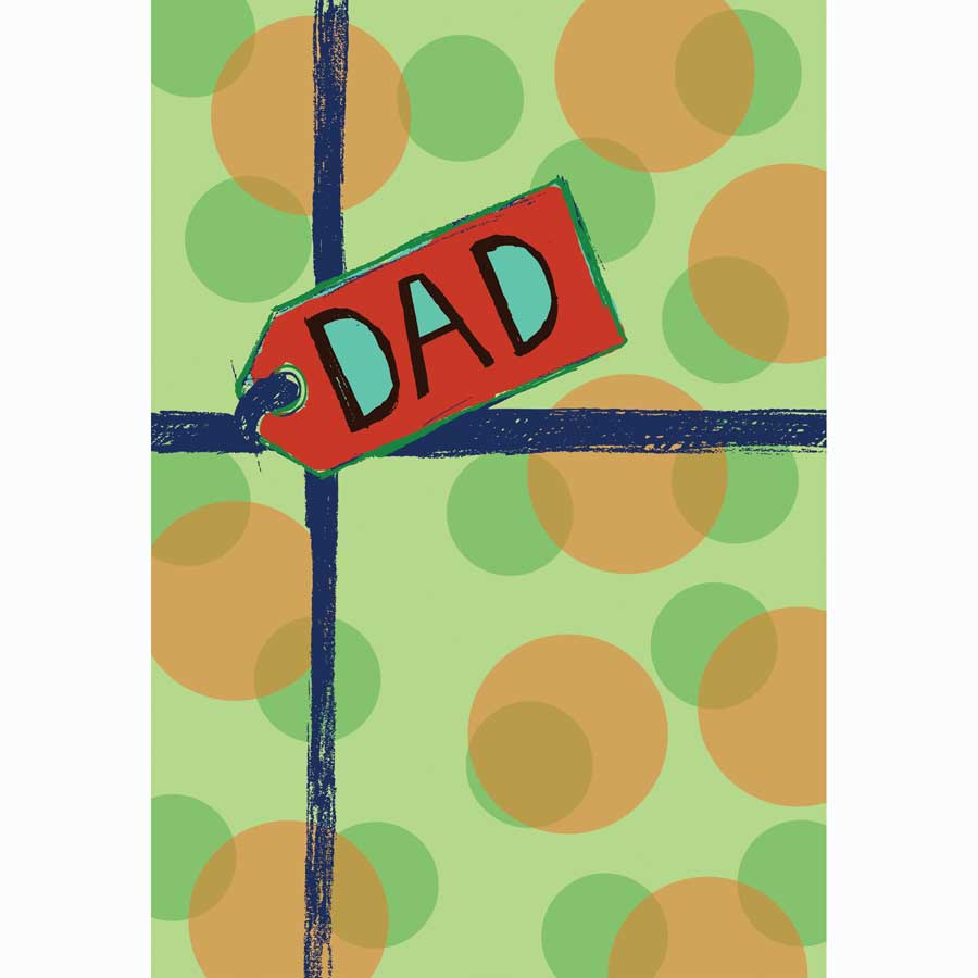 Personalised Dad Card