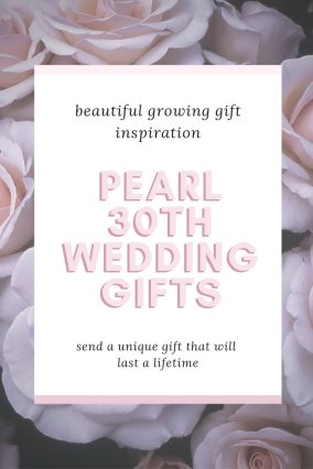 Pearl 30th Wedding Gifts