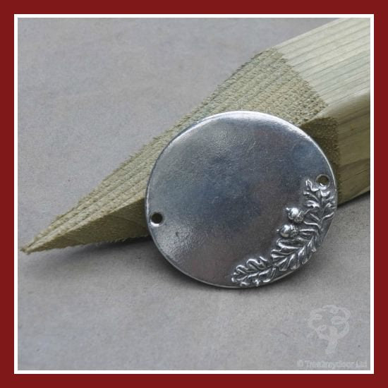 ruby pewter plaque