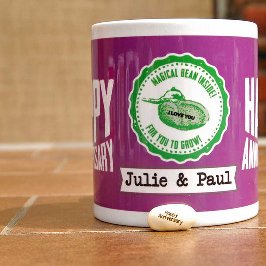 Personalise a Mug for an Anniversary Gift
