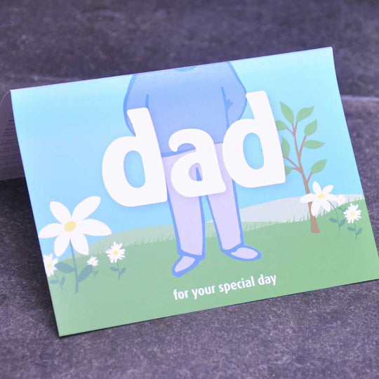 Personalise a Dad Greetings Card