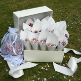 Natural Wedding Flower Confetti