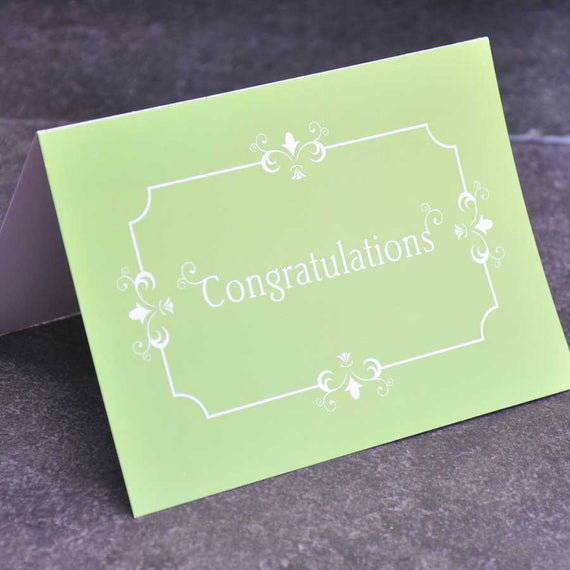 Personalised Congratulations Greetings Card