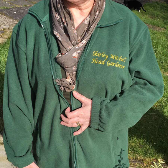 Personalised Garden Fleece