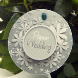 Paper Wedding Indoor Rose Label
