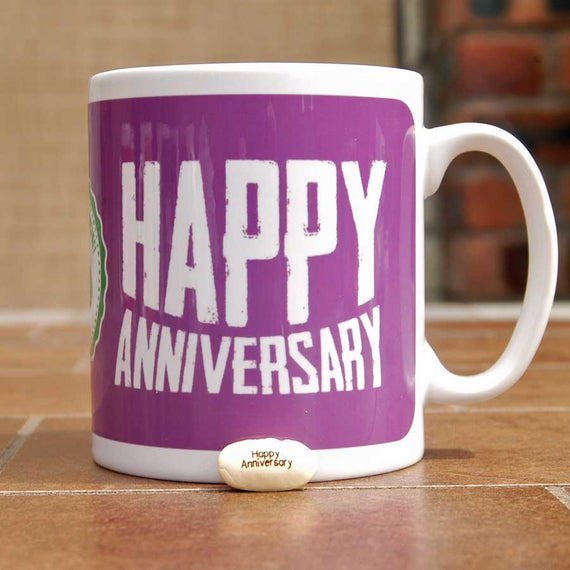 Happy Anniversary Mug and Bean Gift Set